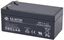 12V 3.6Ah Akku, AGM Bleiakku, B.B. Battery BP3.6-12, 134x67x60 (lxbxh), Pol T2 Faston 250 (6,3 mm)
