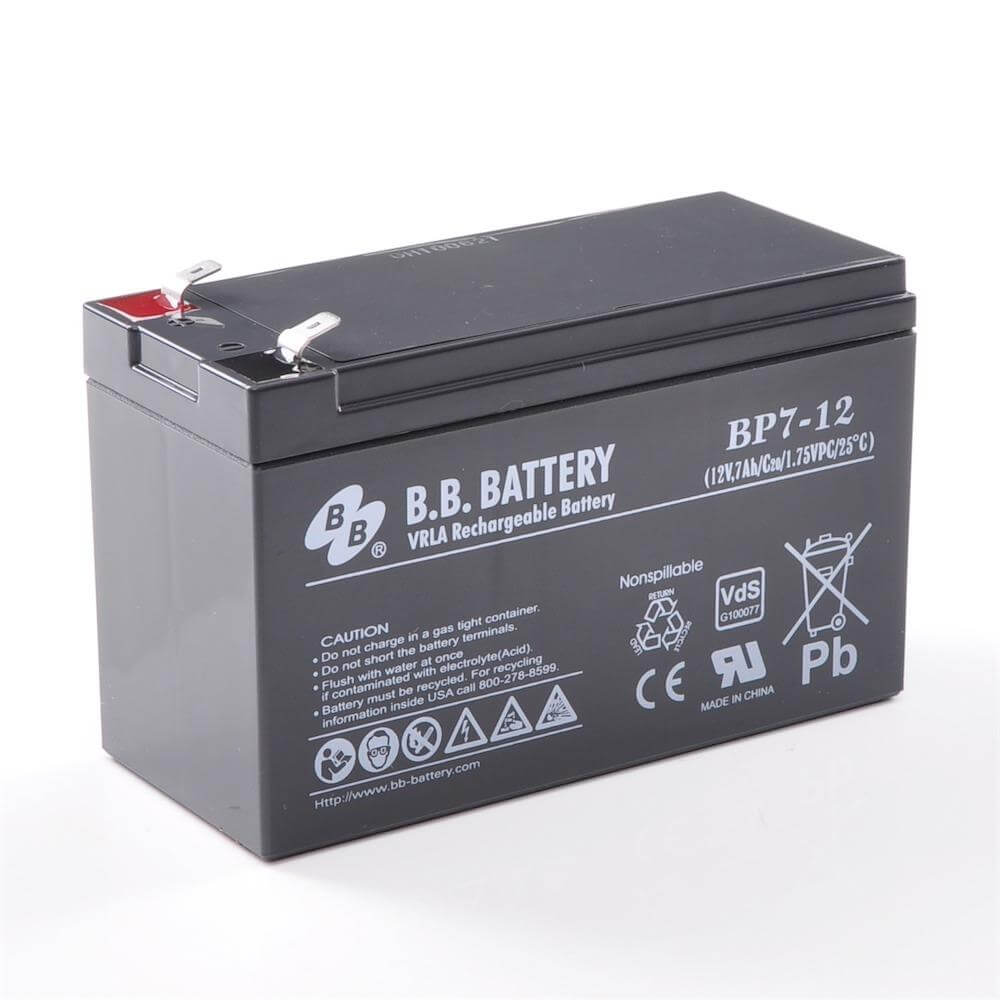 12v 7ah akku agm bleiakku b b battery bp7 12 vds 151x65x93 lxbxh pol t2 faston 250 6 3 mm. Black Bedroom Furniture Sets. Home Design Ideas