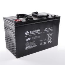 12V 110Ah Akku, AGM Bleiakku, B.B. Battery MPL110-12 H, 330x173x212 (lxbxh), M6 Innengew.