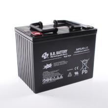 12V 80Ah Akku, AGM Bleiakku, B.B. Battery MPL80-12 H, 261x173x200 (lxbxh), M6 Innengew.