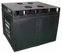 2V 2000Ah Akku, AGM Bleiakku, B.B. Battery MSB-2000, 490x350x343 (lxbxh), Pol B6 (M8 Schraube und Mutter)
